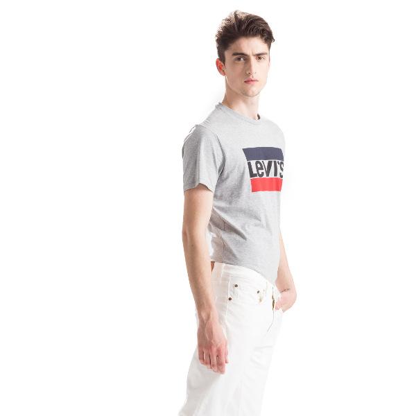 Levi's® 84 Sportswear Logo Grey Midtone Grey HT Graphic-Tee