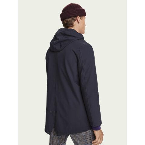 Scotch & Soda Men's Stretch parka jacket