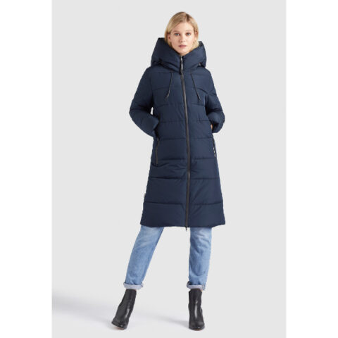 Khujo Women's Quilted Jacket Jilias Blue