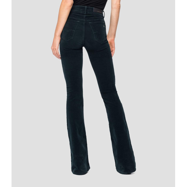 Replay Flare-Fit New Luz Velvet Trousers