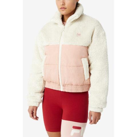 Fila Women's Yauvani Cropped Puffer Jacket