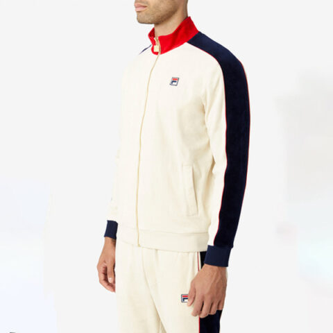 Fila Men's Cima Velour Jacket