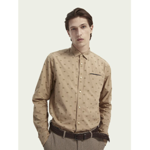 Scotch & Soda Men's Regular Fit Shirt