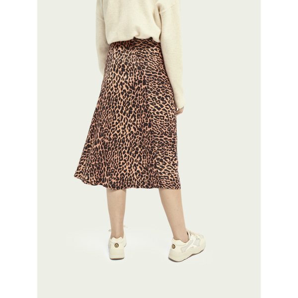 Scotch & Soda Drapey Cut Midi Skirt