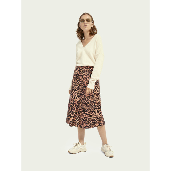 Scotch & Soda Drapey Cut Midi Skirt