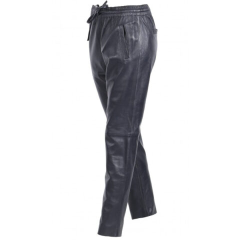 Oakwood GIFT BLACK - GENUINE LEATHER JOGPANTS