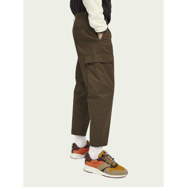 Scotch & Soda Men's Classic Stretch-Cotton Cargo-Pants