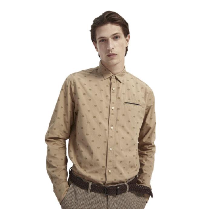 Scotch & Soda Men's Regular Fit Shirt