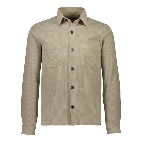 Shine Original Over-Shirt Κοτλέ Εκρού
