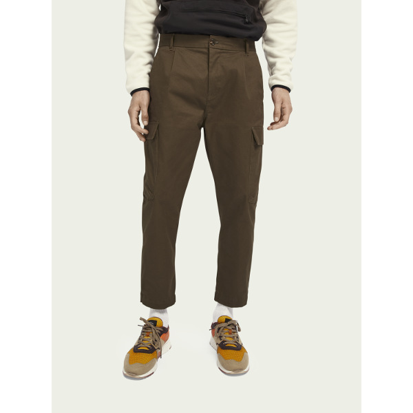 Scotch & Soda Men's Classic Stretch-Cotton Cargo-Pants