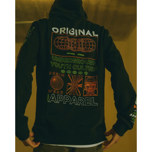 Shine Original Men's Hoodie Black