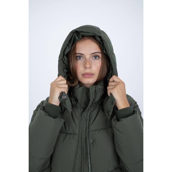 MBYM Women's Ela Slit Jacket Khaki