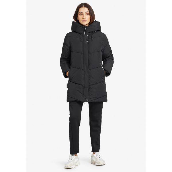 Khujo Women's Puffer Jacket Jordis Black