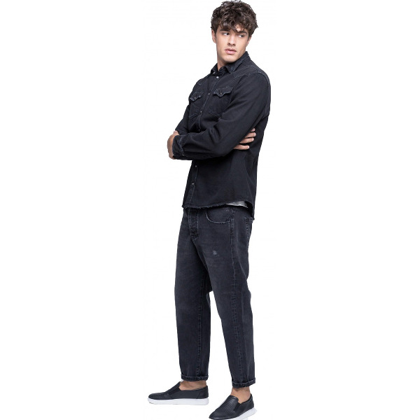 Staff Men's Frank Jeans Pants Black