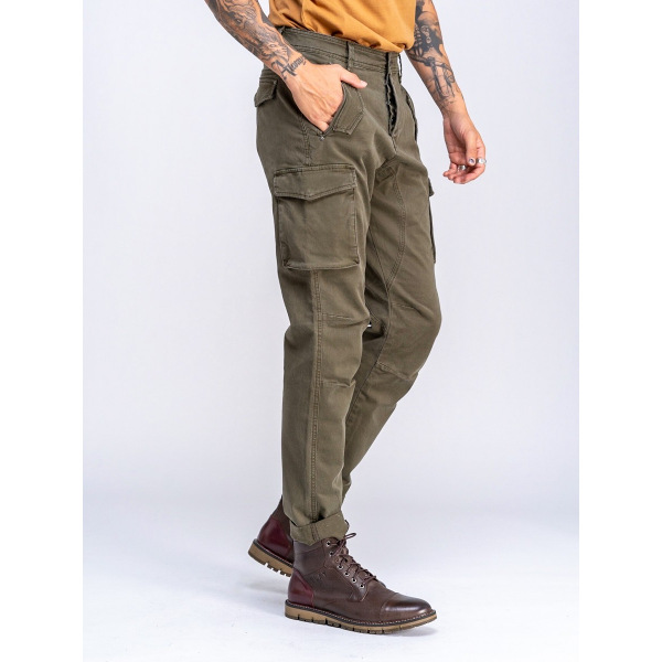 Staff Men's Mauro Cargo Pant Khaki