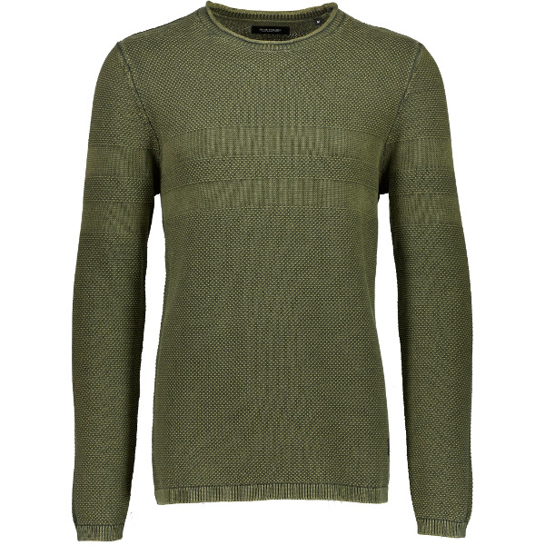 Shine Original Men's Acid-Wash Knit M-Army