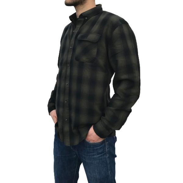 Shine Original Men's Checked Shirt Army