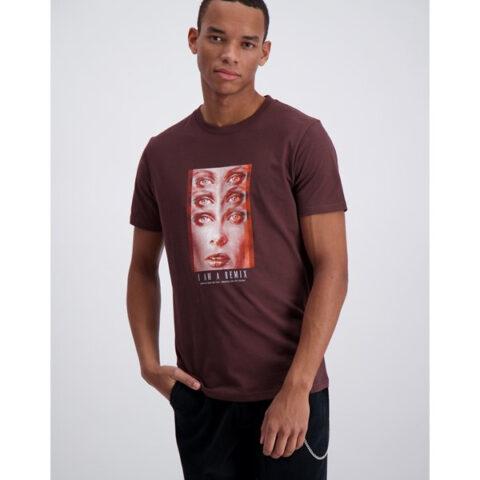 Shine Original Men's T-Shirt Bordeaux