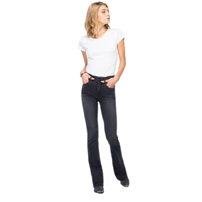 Replay Flare-Fit New Luz Jeans Dark Grey