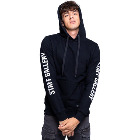Staff Men's Carter Sweat Hoodie Black