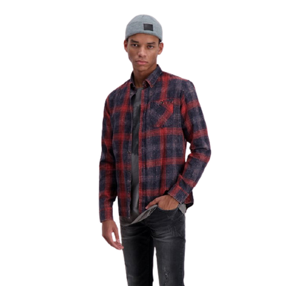 Shine Original Men's Checked Shirt Slim-Fit