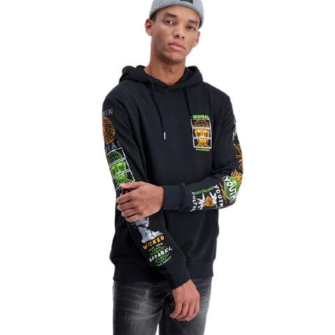 Shine Original Men's Hoodie Black
