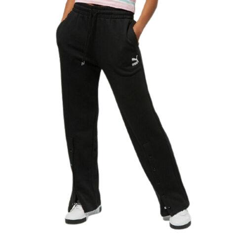 Puma Women's Classics Straight-Leg Pant Black