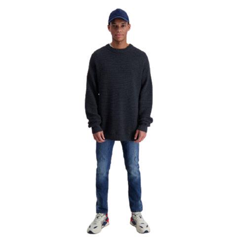Shine Original Men's Pullover Black Melange
