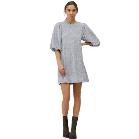 MbyM Emmaline Women's Dress Velvet Grey