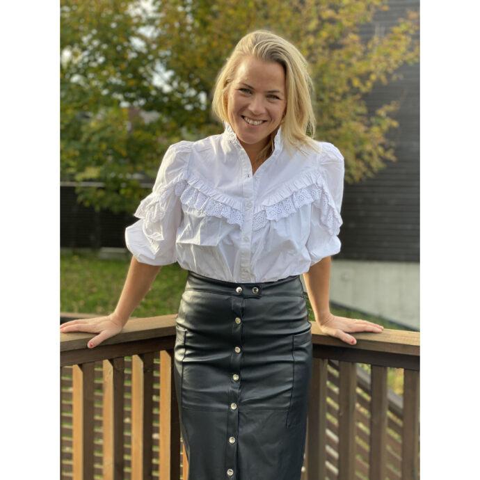 MbyM Romanova Women's Shirt White