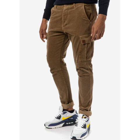 Brokers Men's Cargo Corduroy Pants