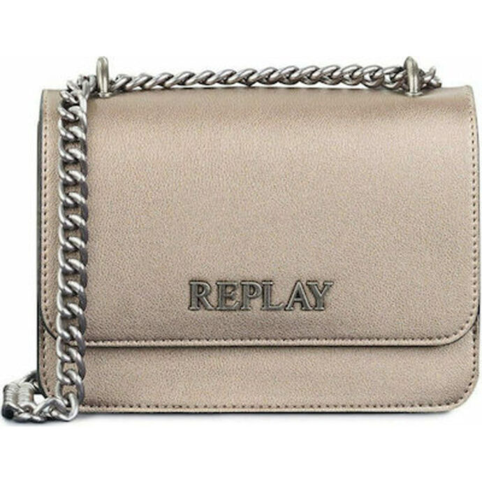 Replay Women's Small Crossover Bag Gold