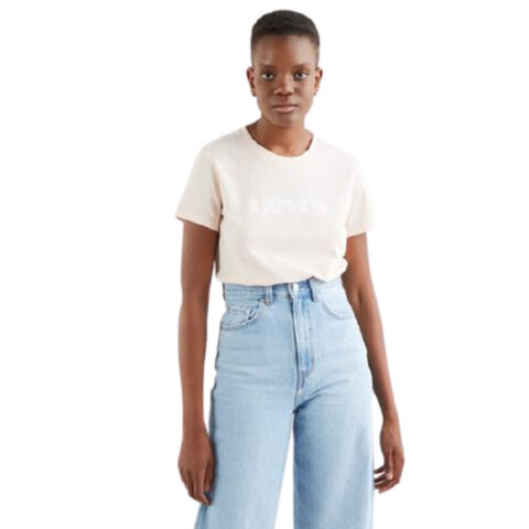 Levi's® The Perfect Tee-New Logo Scallop Shell