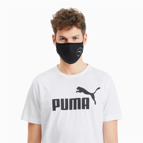 Puma Face Mask (Set of 2) Black