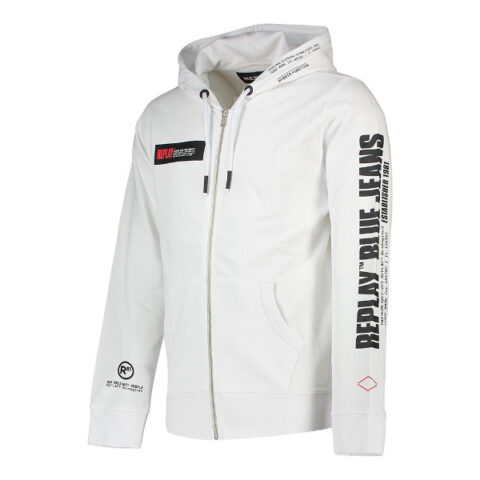 Replay Men's Hoodie White