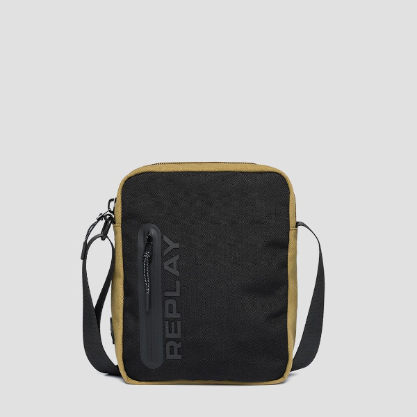 Replay Men's Canvas Crossbody Bag