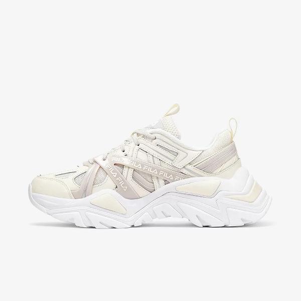 Fila Women's Electrove II Sneakers Sand/White