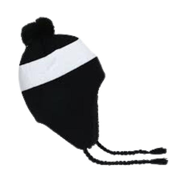 Fila Pom Sherpa Fleece Beanie-Hat Black
