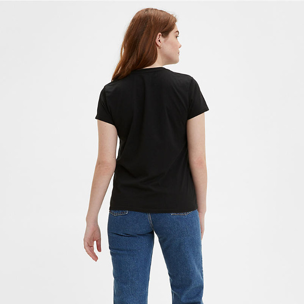 Levi's® Perfect Tee-Mineral Black Women's