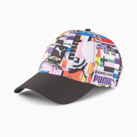 Puma International Cap Black-AOP