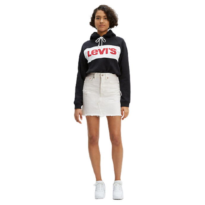 Levi's® Decon Iconic BFLY Skirt Pearly-White