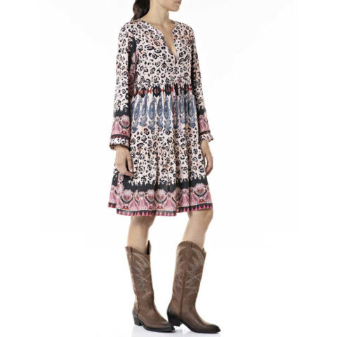 Replay Women's Dress All-Over Printed