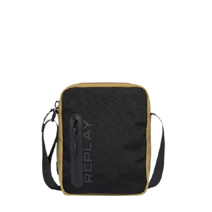 Replay Men's Canvas Crossbody Bag