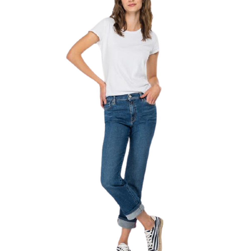 Replay Rose Label Straight-Fit Julye Jeans