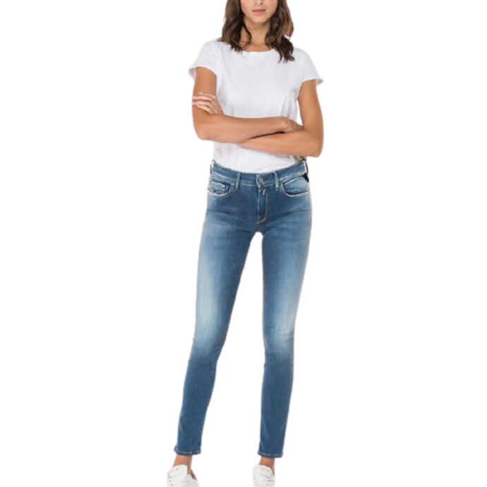 Replay Skinny-Fit Hyperflex Re-Used New-Luz Jeans