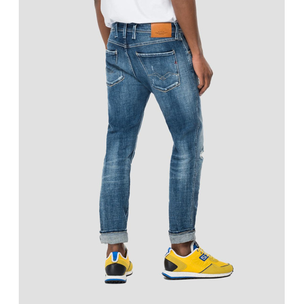 Replaly Slim-Fit Anbass Aged Eco 5 Years Jeans