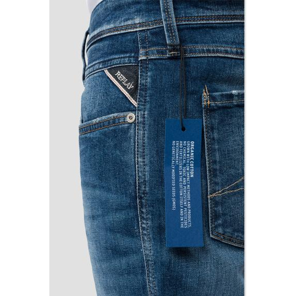 Replay 573 Bio Slim-Fit Anbass Jeans