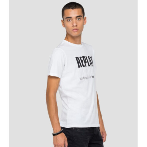 Replay Blue Jeans Established 1981 Print T-Shirt