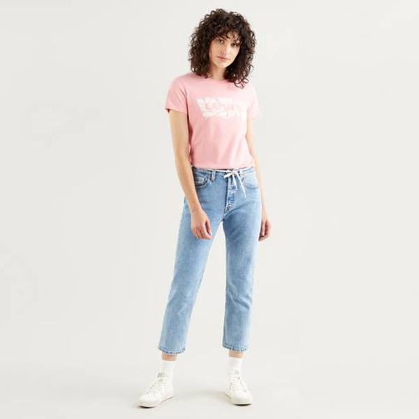 Levi's® The Perfect Tee-Batwing Fill Artistic Shapes Peony