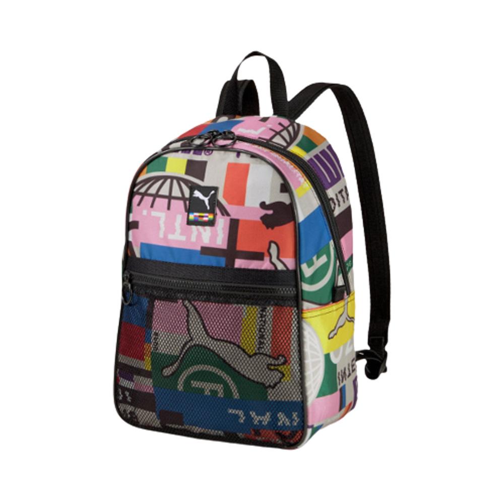 PUMA INTL Street Backpack Black AOP